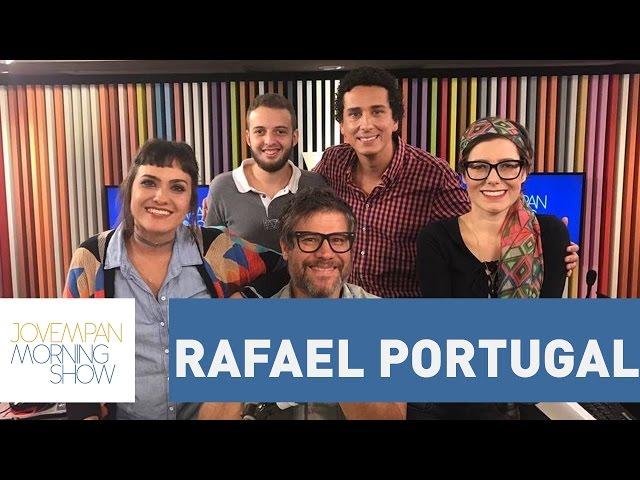 Confira a participação completa de Rafael Portugal | Morning Show