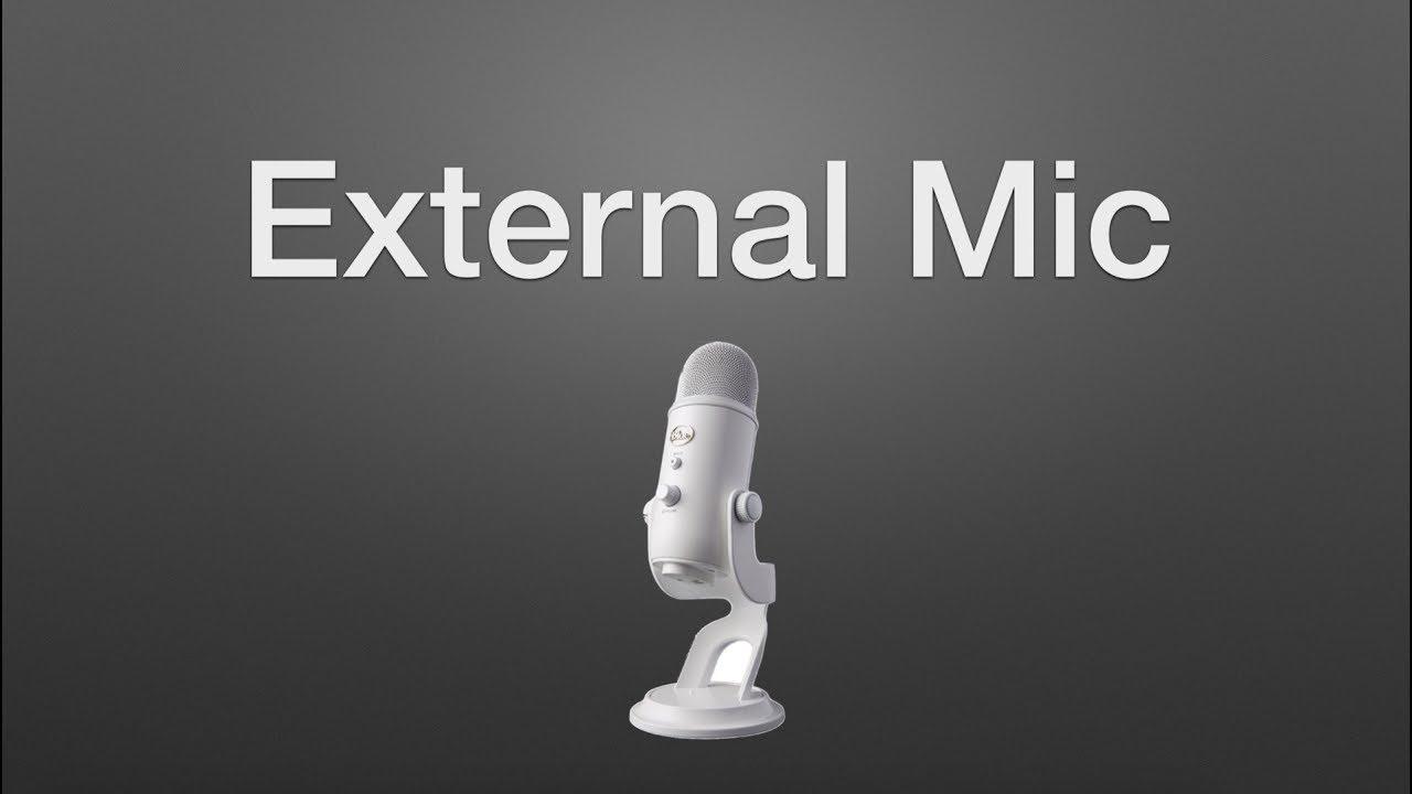 Microphone hookup for mac