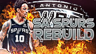 BLOWING UP THE SPURS REBUILD! (NBA 2K20)