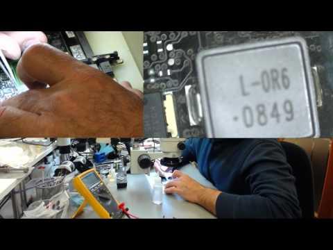 MacBook Pro 13 2008  820 2327 No Power   Scheda Logica con Danno da Liquido   Liquid Damage