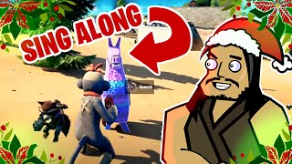 HUNTER'S HAVEN & HOLIDAY SING-ALONG | Roach Plays Fortnite (The Squad)