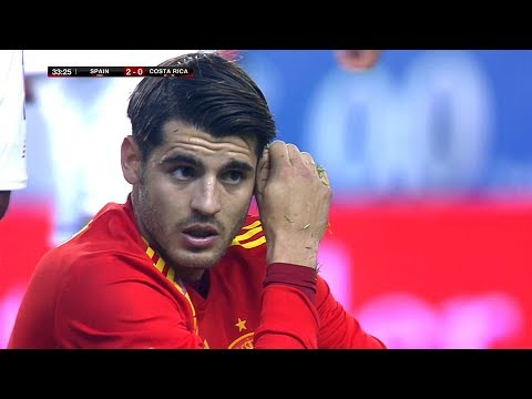 Alvaro Morata vs Costa Rica (Friendly) 11/11/2017 HD 1080i