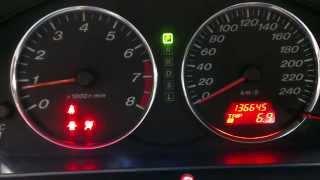Ошибка airbag mazda 6