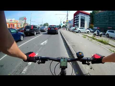 Калининград - Черняховск на велосипеде (188 км.)