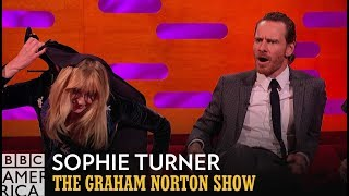 Sophie Turner's Secret Circus Skills | The Graham Norton Show | BBC America