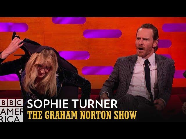 Sophie Turner's Secret Circus Skills | The Graham Norton Show | BBC America