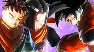 HELPING 17 DESTROY GOKU - Dragon Ball Xenover...