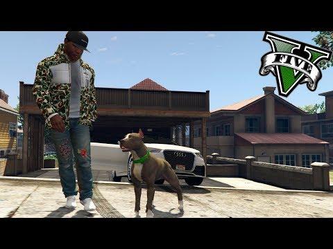GTA V VIDA REAL MODS #3 - ADOPTO EL MEJOR PERRO DEL MUNDO!! - ElChurches