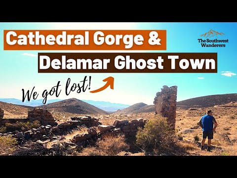 We Get Lost in the Ghost Town of Delamar!
