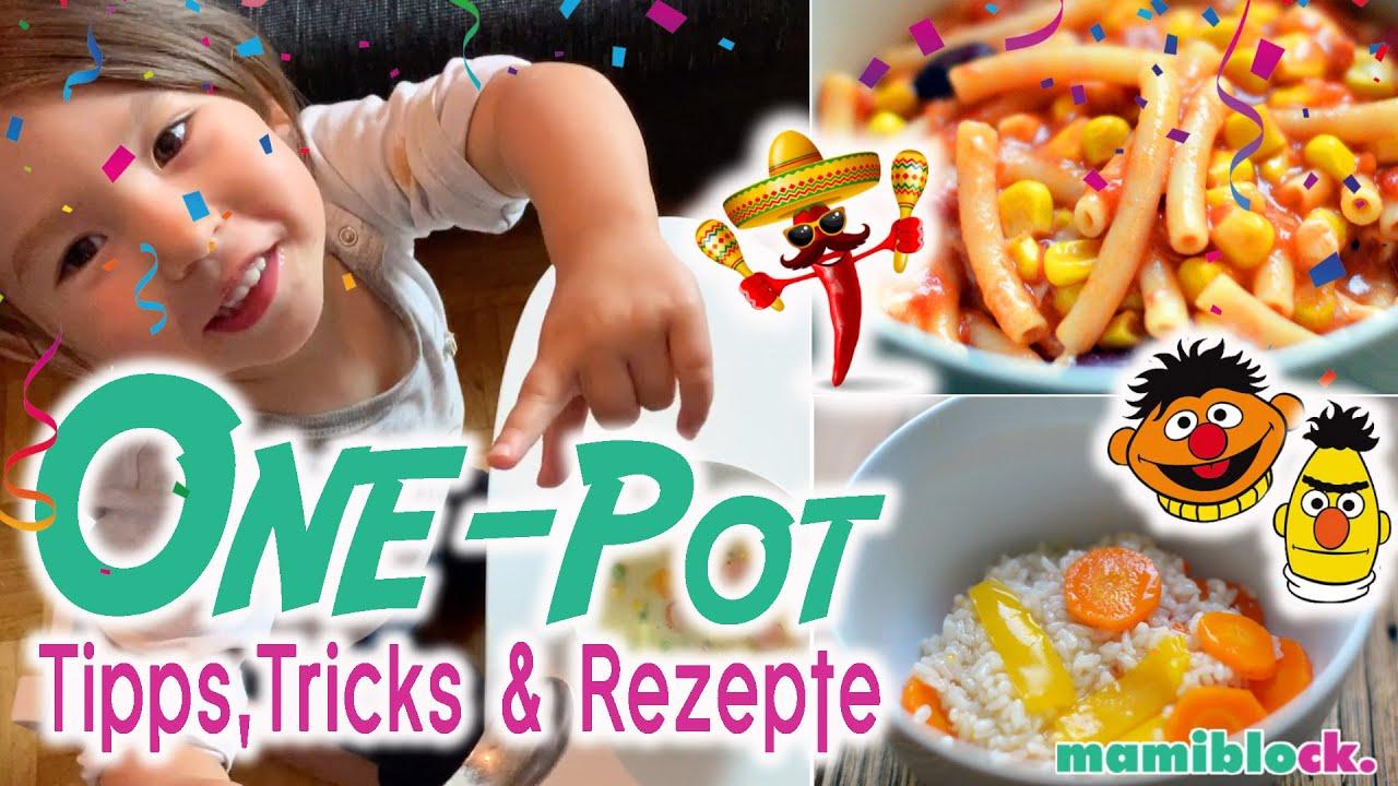 One Pot Küche für Kinder 🥘👩🏻🍳| Die besten Tipps, Tricks und Rezepte | Mom Hacks | mamiblock