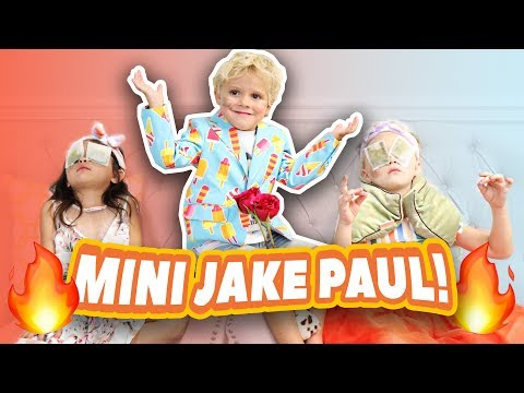 KINDERGARTNER'S DATE WITH MINI JAKE PAUL (TEAM 10) Everleigh Ava Tydus at spa (CUTE)