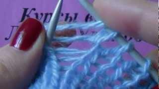 Приемы вязания спицами 6