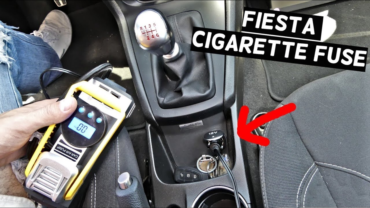 ford fiesta wiring diagram 2000 toyota 4runner cigarette lighter fuse location replacement mk7 st youtube
