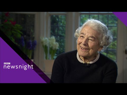 Judith Kerr reveals the story behind The Tiger Come to Tea - BBC Newsnight