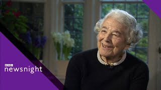 Judith Kerr reveals the story behind The Tiger Who Came to Tea - BBC Newsnight