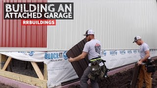 How to Build a Garage Addition 16: Replacing Steel Siding
