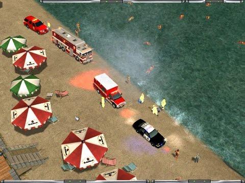 Emergency 4-- Santa Maria Beach,San Andreas Mod-- Busy day at the beach
