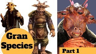 Three-Eyed Cow Aliens - Gran Species Lore Explained P.1  - Star Wars Species & Creatures Explained
