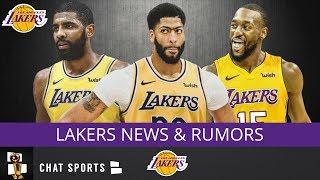 Lakers Rumors: Anthony Davis, Kyrie Irving Rumors, Kemba Walker Free Agency & Kawhi Leonard To LA?