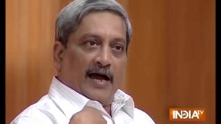 Excerpts of Shri Manohar Parrikar's Interview - AAP Ki Adalat