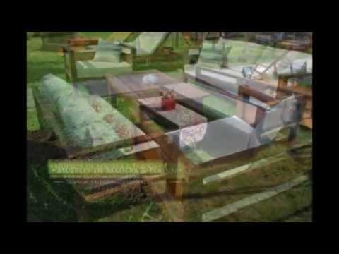 Sillones de living exterior muebles de madera y jard n for Sillones de madera