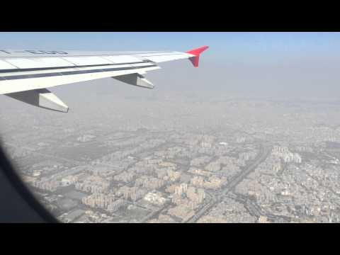 Delhi - Chennai flight || Takeoff from Indira Gandhi International Airport