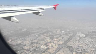 Delhi - Chennai flight || Takeoff from Indira Gandhi International Airport