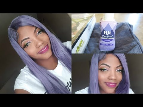 How to Dye a Synthetic Wig|EpicShae