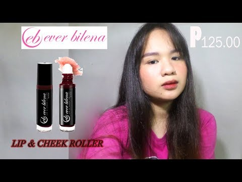 EB Lip and cheek roller tint review