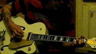 gretsch white falcon rock n roll guitar fender 59 bassman ltd amp weazeldust