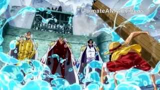 Video Marineford: Luffy vs 3 Admirals (English Sub) (One Piece) download MP3, 3GP, MP4, WEBM, AVI, FLV November 2018