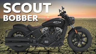 The Indian Scout Bobber has finally hit UK shores so I take one out...