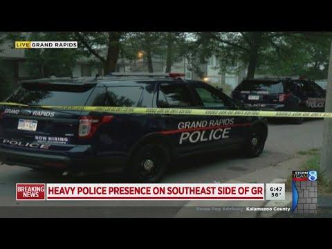 Heavy Police Presence In SE Grand Rapids