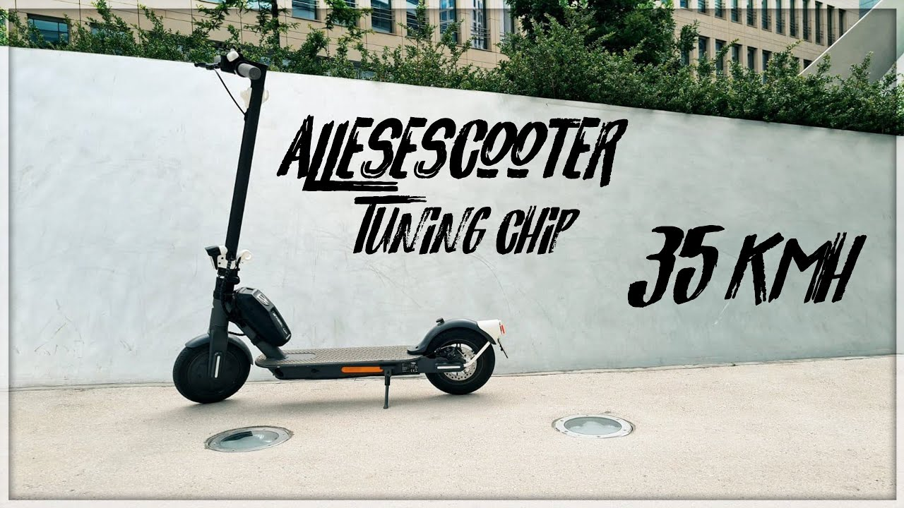 Technostar /& TrekStor e-scooter tuning tes 200//eg3168//puce eg3178 sur 35km//h