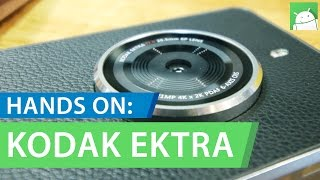 Hands On: KODAK EKTRA 21MP Android Smartphone