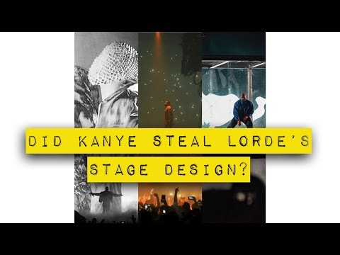 Did Kanye steal Lorde's stage design at Camp Flog Gnaw for Kids See Ghosts? Mp3