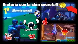 VICTORY with THE NEW SECRET SKIN!!!!!! 🤖 Battle Royale: Fortnite RexiRexi728