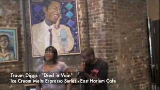 "Ice Cream Melts  Espresso Series Traum Diggs - ""Died In Vein"" - East Harlem Cafe Thumbnail"