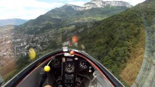 Vol en Ka-6 a Challes-les-eaux