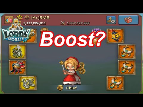 5MR Boost To What?? + Colosseum Tricks (LIVE) - 王國紀元 Lords Mobile