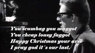 The Pogues - Fairytale of New York + Lyrics