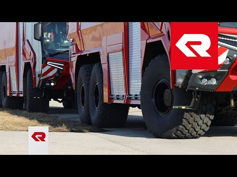 The PANTHER 6x6 – Test drive – Rosenbauer