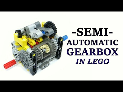 Lego Semi Automatic Gearbox - 3 Speed - Lego Technic Mastery