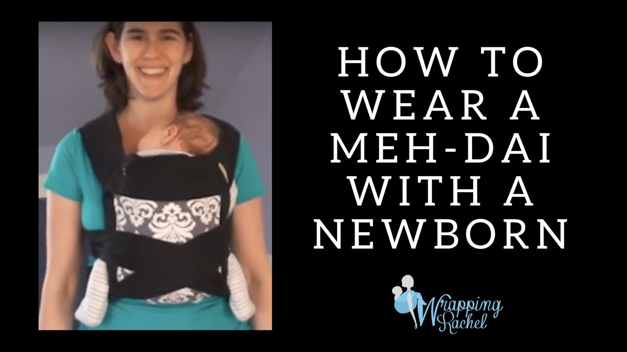 bd7597b444e How to use a Meh Dai Baby Carrier with your Newborn (Infantino Sash ...