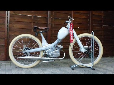 NSU Quickly Bobber -Driving-