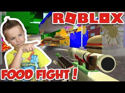 ULTIMATE FOOD FIGHT in ROBLOX!