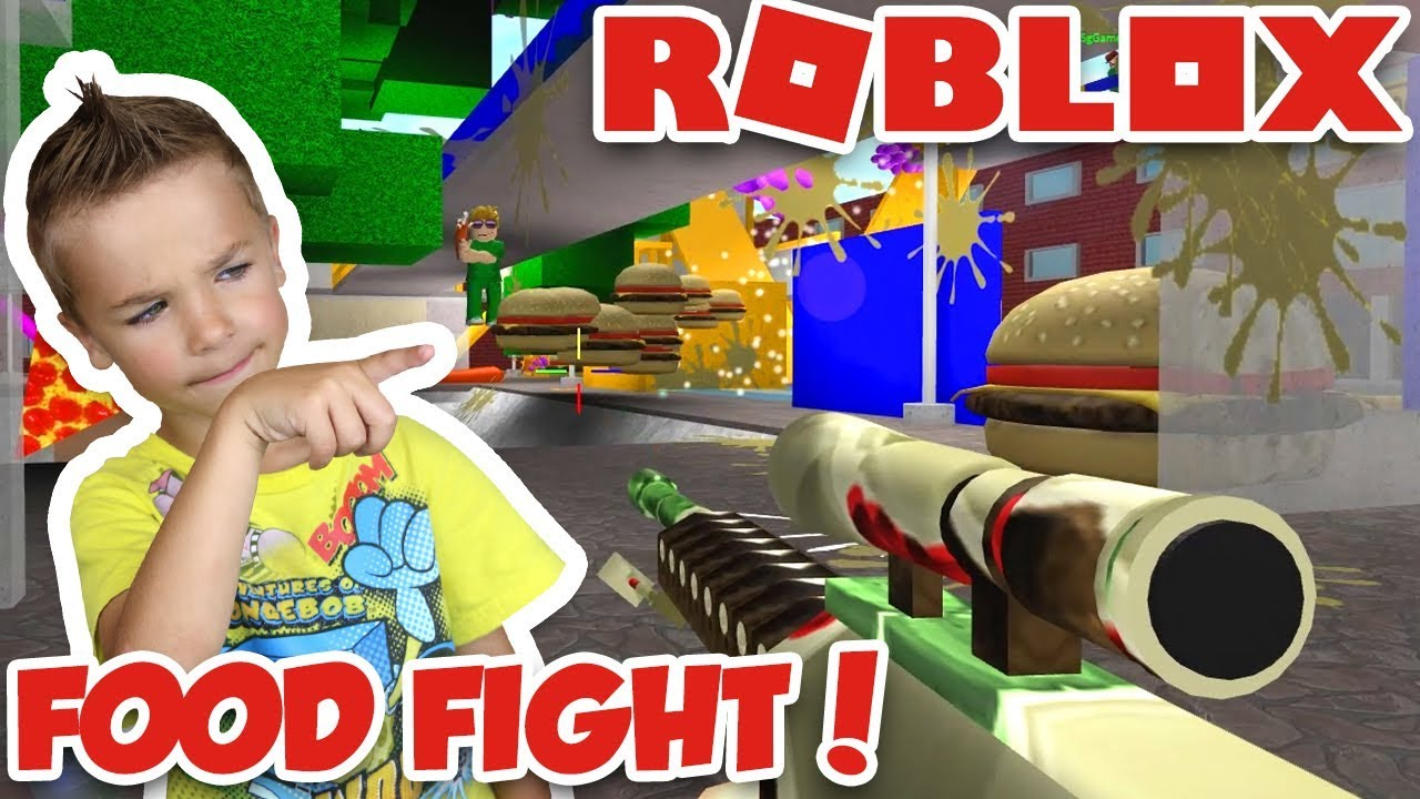 Ultimate Food Fight In Roblox Youtube