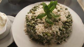 Bezelyeli Pirinç 🍙  Pilavı Tarifi