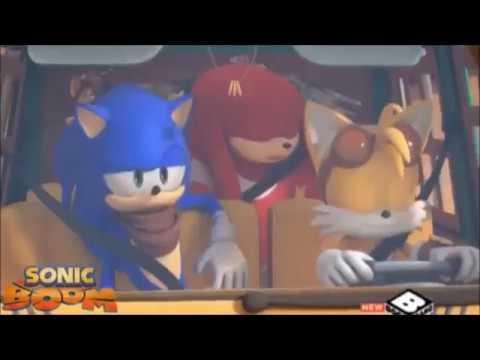 Sonic Boom - Planes, Trains & Dude-Mobiles/Amy & Sticks ...