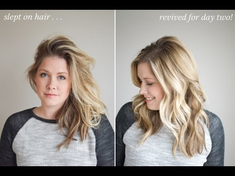 how-to-refresh-hair-for-day-two